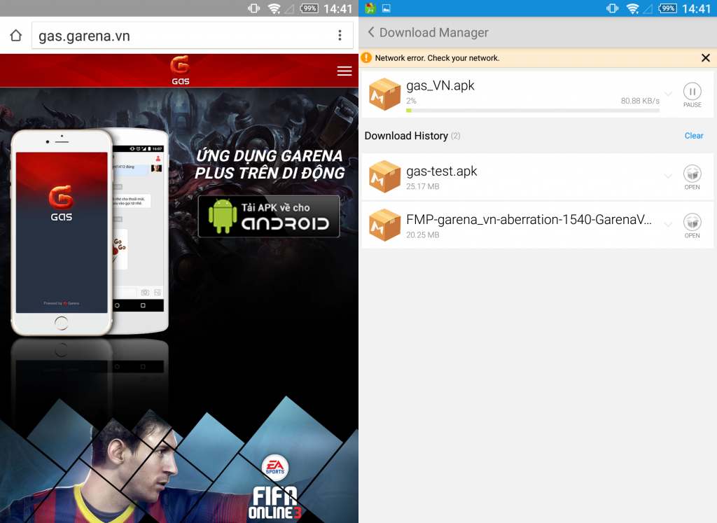 Hướng dẫn cài đặt, chơi Fifa Online 3M trên điện thoại (Mobile FO3)