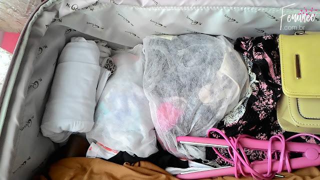 como arrumar as malas para viajar