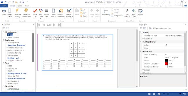Vocabulary worksheet factory crack for windows