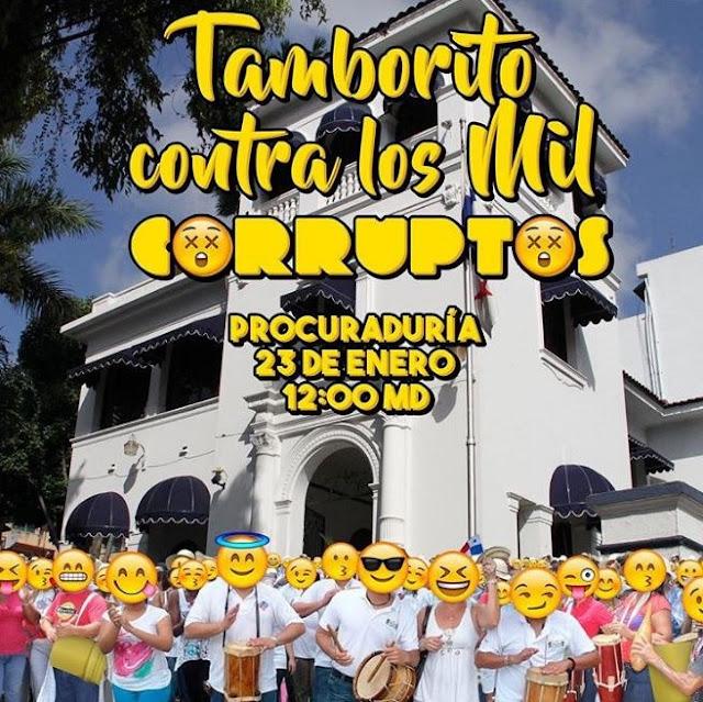 Tamborito contra los mil corruptos