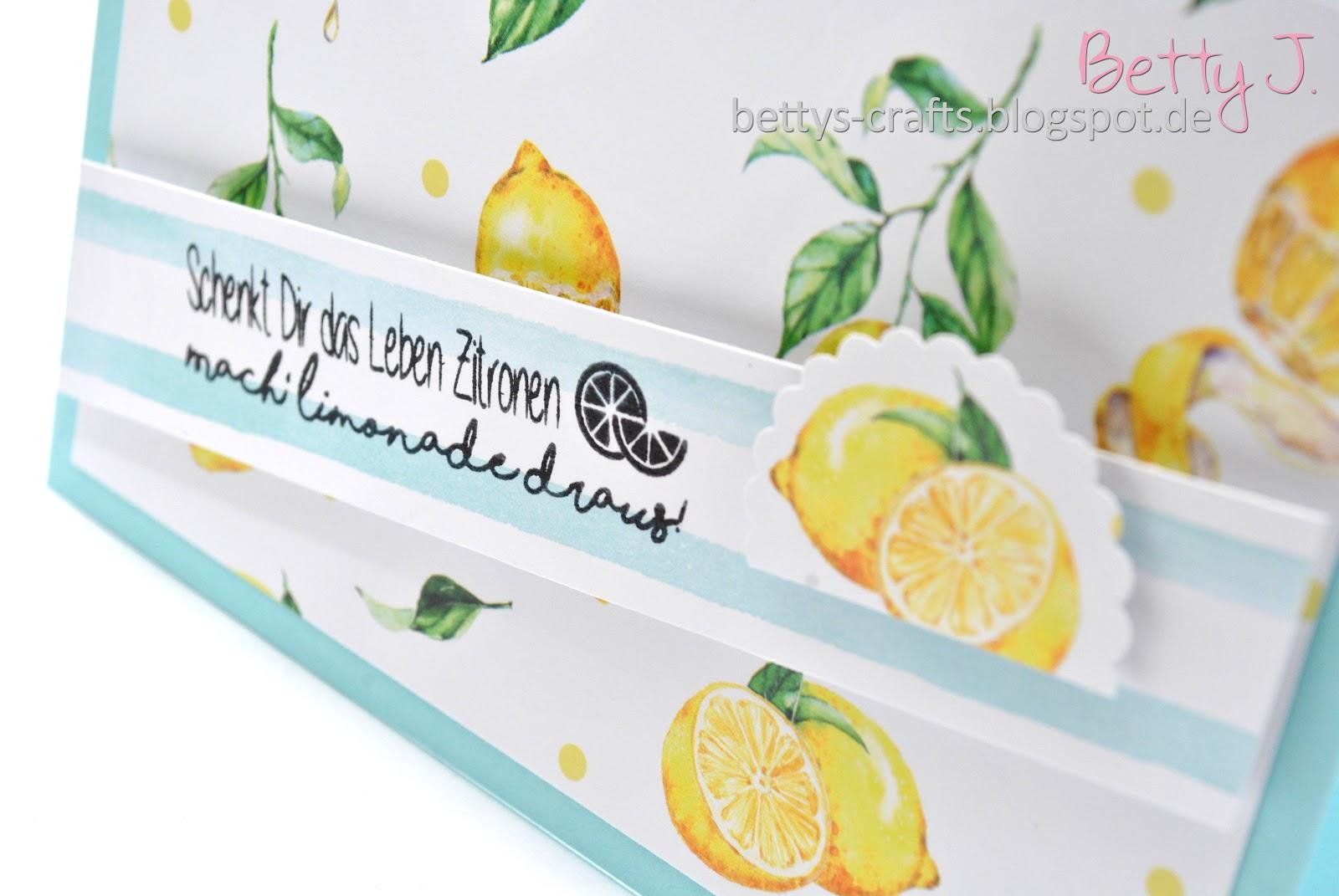 """Zitronen leben dir schenkt das wenn """"Wenn dir"""