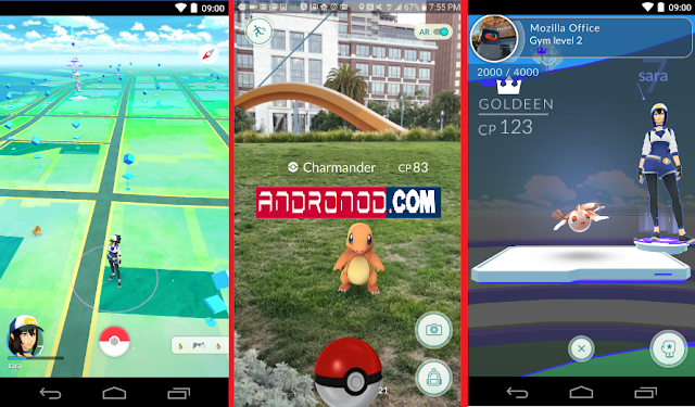 Download Pokemon Go v.0.29.3 Apk Terbaru