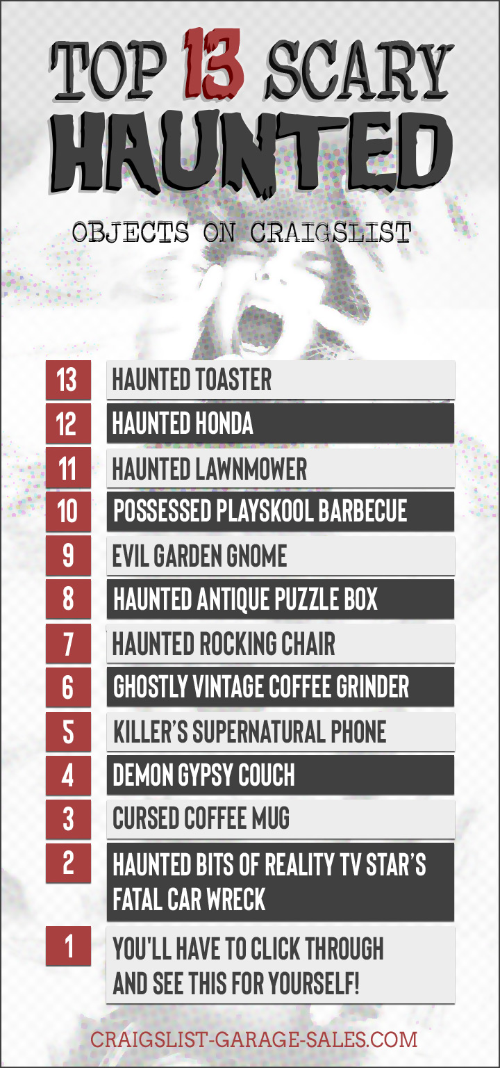 Craigslist's 13 Most Haunted Halloween Countdown ...