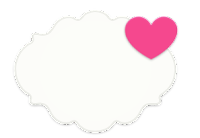 nuvem cute com coração