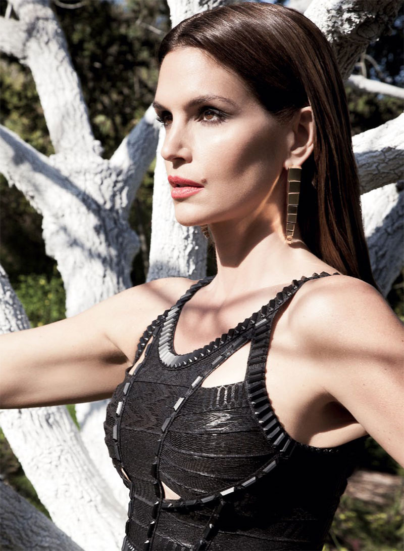 Cindy Crawford S Daughter Talks: Loveisspeed.......: Cindy Crawford Is A Glamazon In S Moda