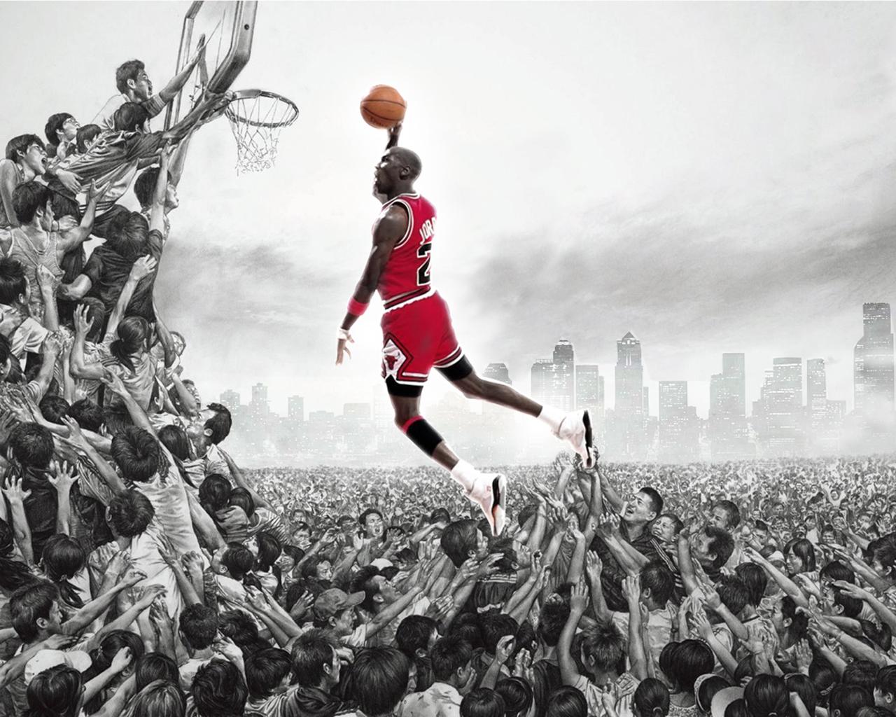 Michael Jordan Artwork: Chatter Busy: Michael Jordan Quotes
