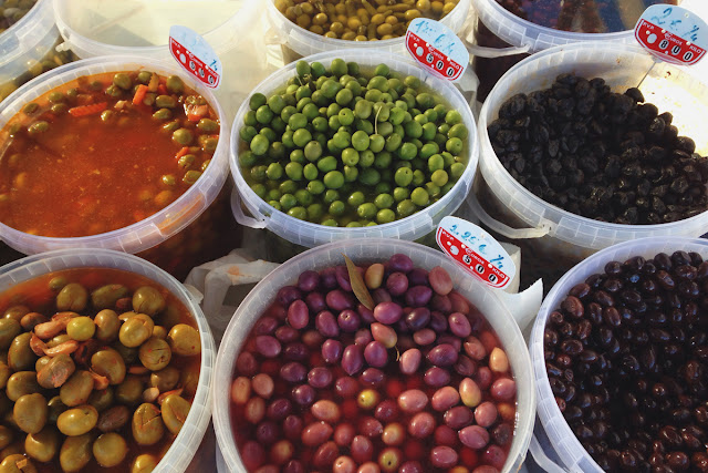 Olives at Playa Flamenca market