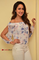 Actress Pragya Jaiswal Latest Pos in White Denim Jeans at Nakshatram Movie Teaser Launch  0037.JPG