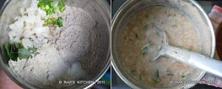 Instant ragi dosa recipe step 1