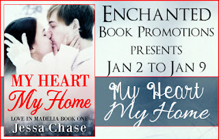 My heart my home by Jessa Chase