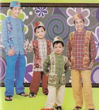 Baju muslim anak laki-laki yang trendy merek keke