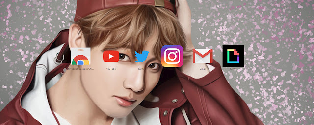 BTS Jungkook YNWA Free Theme FOR Chrome