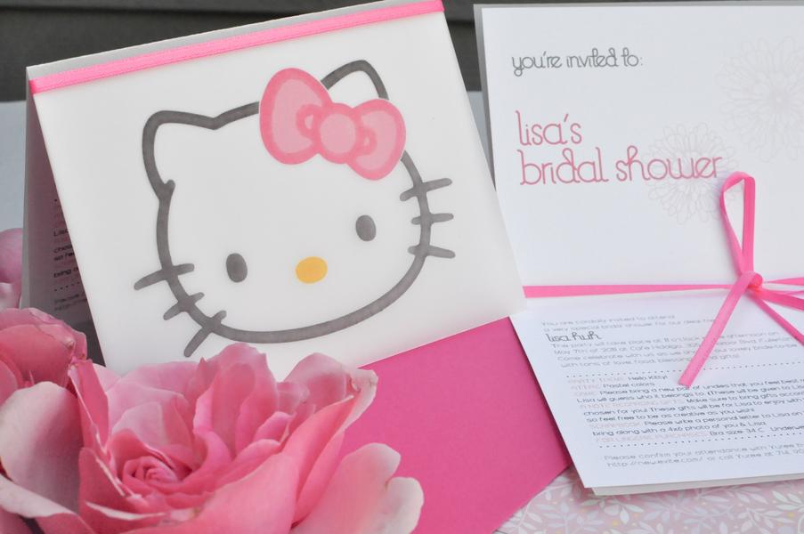 Hello Kitty Wedding Ideas