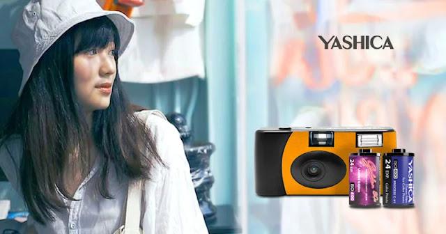 Yashica svela tre fotocamere 35 mm e due nuove pellicole