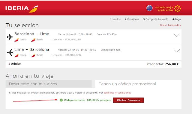 Iberia discount code