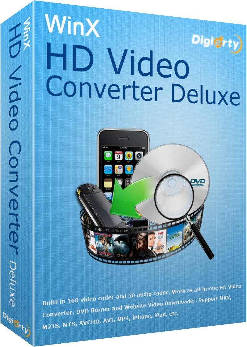 WinX HD Video Converter Deluxe 5.6.1 Keygen 2015 LATest