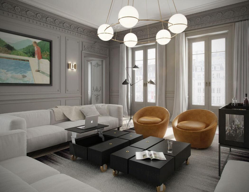 Eye For Design: Decorating Paris Apartment Style.........A ... on Apartment Decorating Styles  id=75841