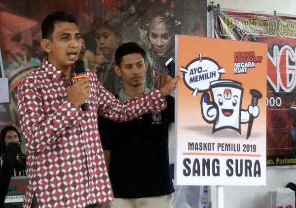 """Perkenalkan """"Sang Sura"""", Pagelaran Seni Budaya KPU Pariaman Berlangsung Sukses"""