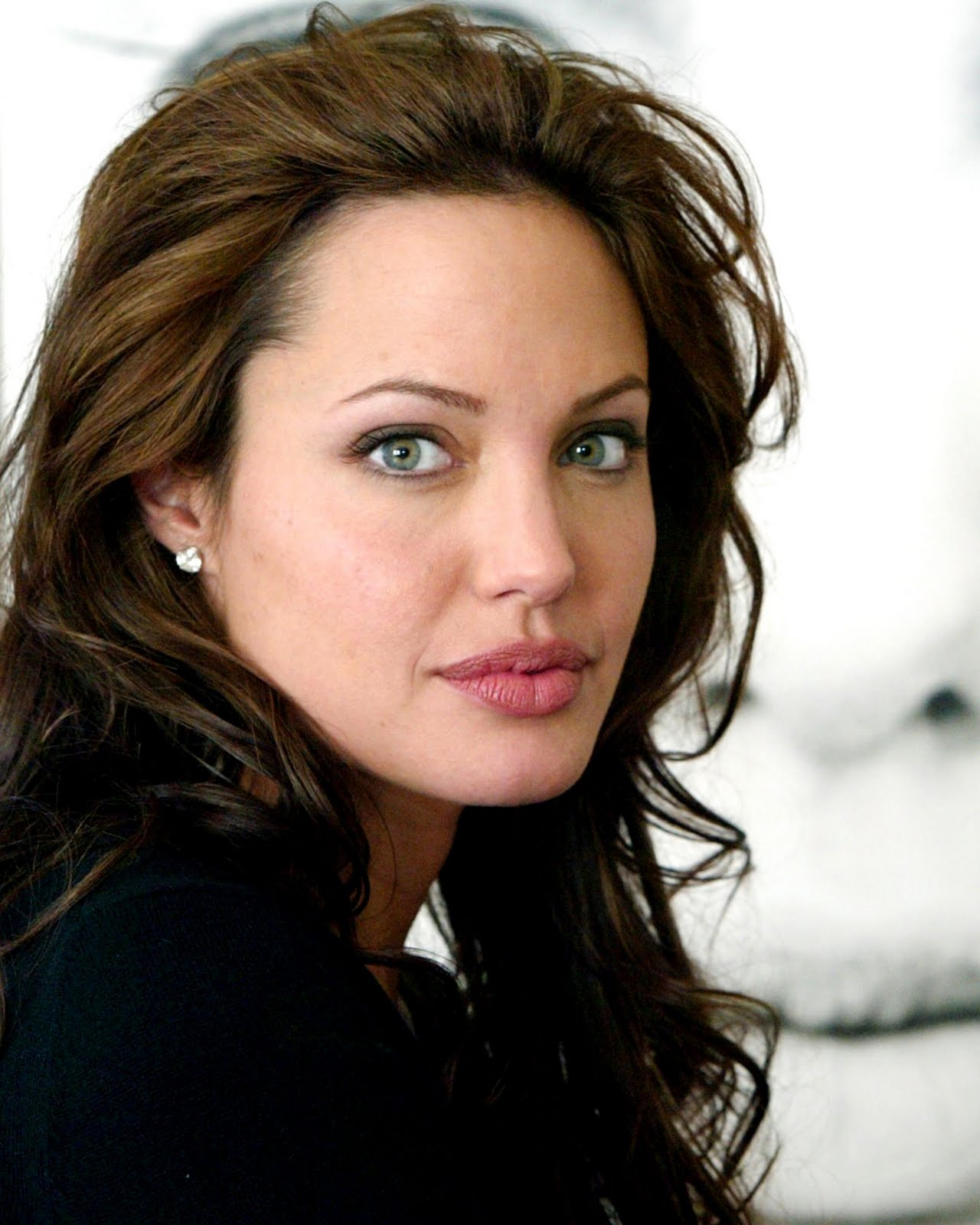Angelina Jolie Look Using All Drugstore Makeup: Hot Actress Images: Angelina Jolie's Spicy Pictures, Images
