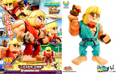 Street Fighter Ken Bulkyz Collection Vinyl Figure by Big Boys Toys x CAPCOM