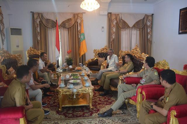 Bupati dan Wakil Bupati Sinjai Terpilih Silaturahmi dengan Pj Bupati Sinjai