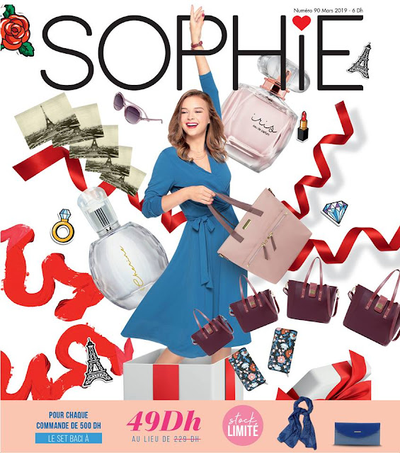 catalogue sophie paris maroc avril 2019