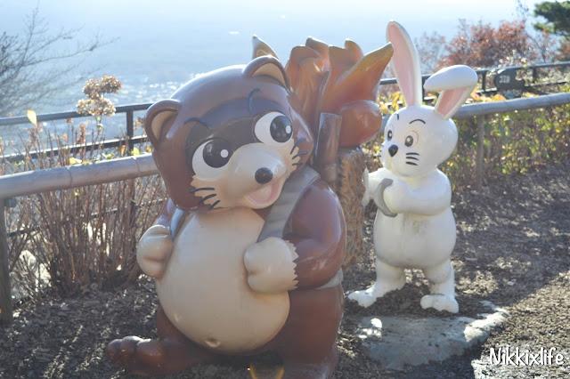 【日本。河口湖】天上山公園・高人一等的必訪景點 11