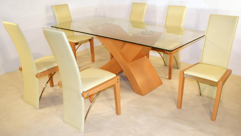 Sala De Jantar Mesa Em Vidro ~ Sala de jantar com mesas de vidro ~ Decoração Fáci