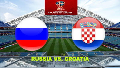 Live Streaming Russia vs Croatia Suku Akhir Piala Dunia 8.7.2018