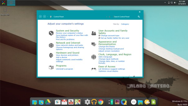 Screenshot Android L Skin Pack win 8/8.1