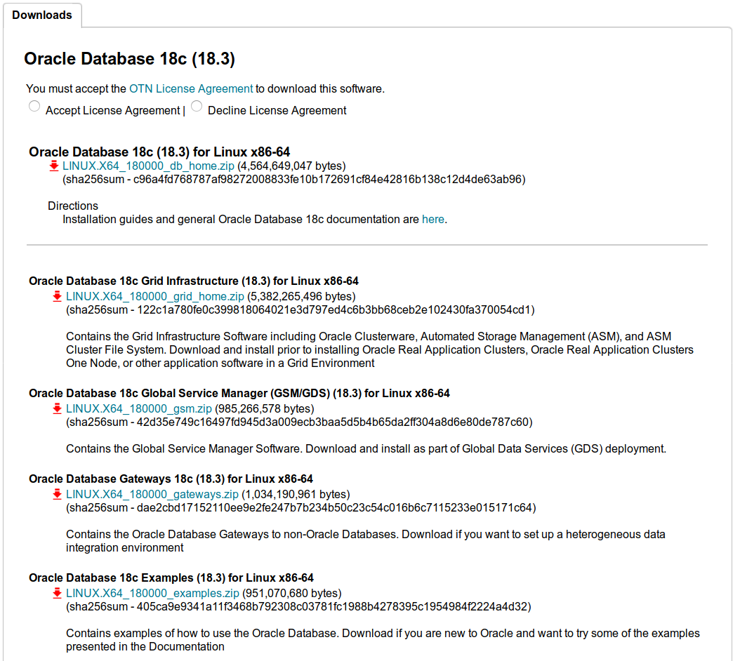 Run like Hell: Oracle 18c database is released for Linux (on
