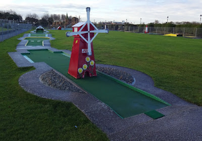 The Arnold Palmer Putting Course in Southport