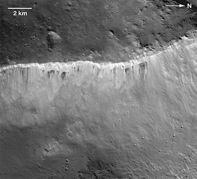 superfície de Vesta