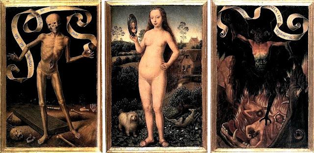Hans Memling - Trittico della vanità e della salvezza