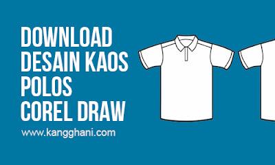 Template Desain Kaos Polos Depan Belakang Corel Draw