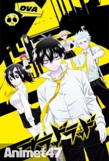 Blood Lad: Wagahai wa Neko de wa Nai - Anime Blood Lad OVA 2013 Poster