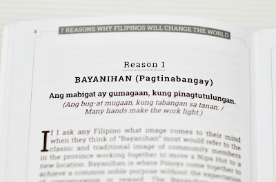 Mike Grogan - 7 Reasons Why Filipinos Will Change the World Sample Page