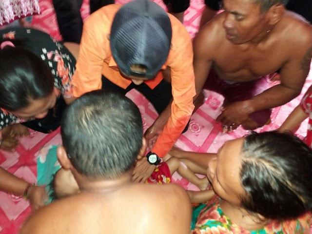Akibat Kelalaian Orang Tua ,Balita  Salsabila Jadi Korban Banjir