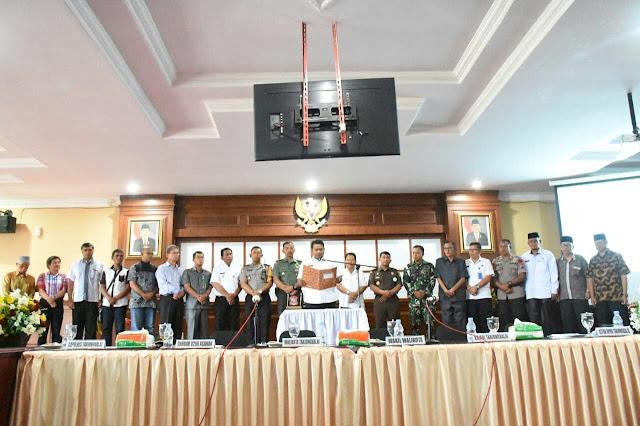 Pernyataan sikap Pemko Tanjungbalai.