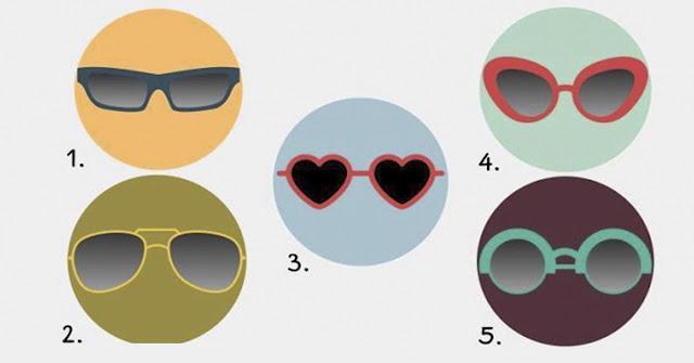 Распознайте самую яркую черту своего характера! Просто выбираем очки и…