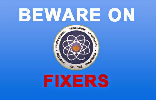 PRC warns public anew of fixers