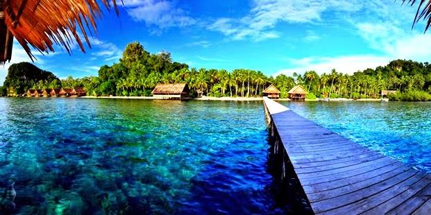 Keindahan Tempat Wisata Raja Ampat di Bumi Papua