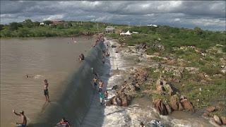 Pelo menos oito açudes sangram no Sertão e Agreste da Paraíba após fortes chuvas