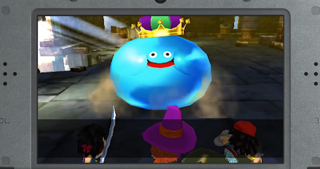 Dragon Quest VII Fragments of the Forgotten Past King Slime battle