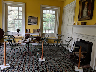 Colonial-era parlor