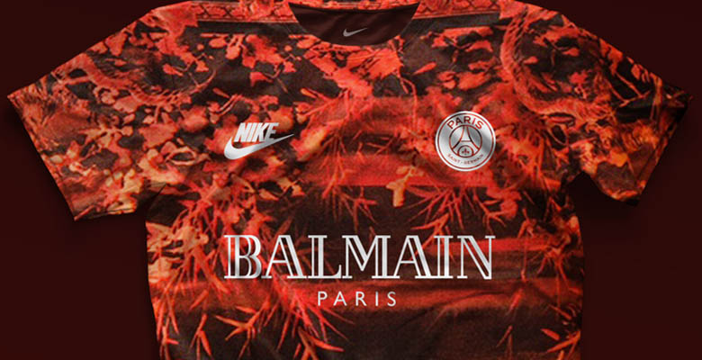 watch 4d178 2539c Five Nike Paris Saint-Germain Concept Kits by mbroidered ...