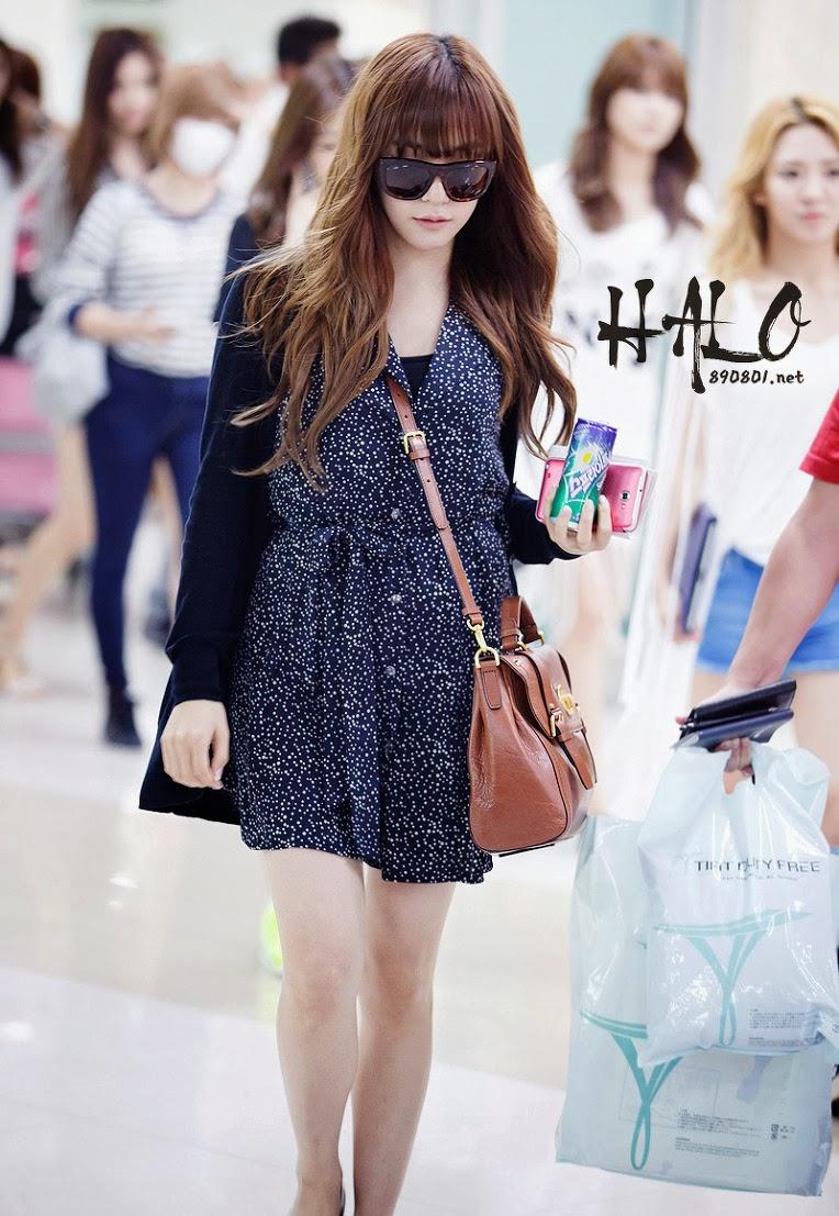 Fashsion: SNSD Jessica Airport Fashion
