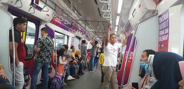 Naik MRT dengan KTA Kafapet Unsoed