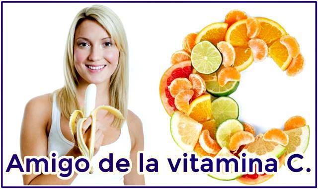 El consumo de banano ayuda a aumentar los niveles de vitamina c