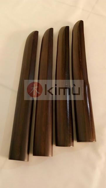 KIMU Tanto (Pisau) Kayu Sonokeling - Dark Eagle